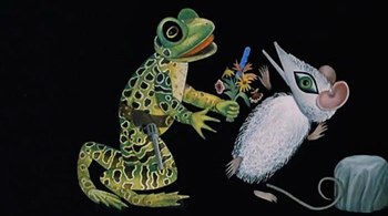 Mister Frog Went-A-Courting