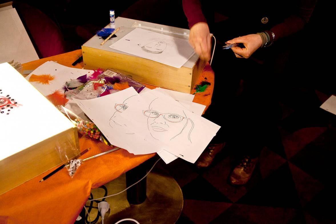 Tricky Women 2016 - Workshop Animated Self-Porträts